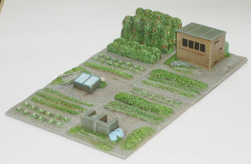 how to plan an allotment layout