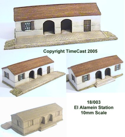 Timecast Range 18 10mm Scale North African Amp Middle