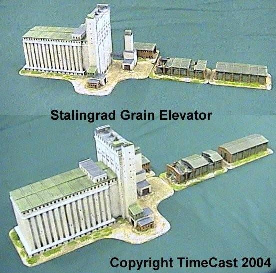 Timecast Range 3 6mm Scale Eastern European Buildings
