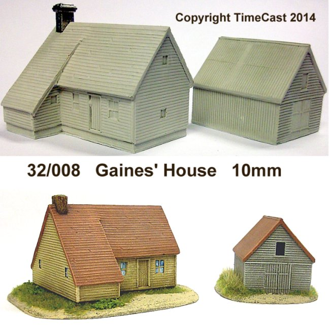 10mm Scale North American Buildings