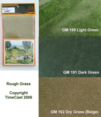 Gaugemaster GM-GM147 6 mm Grass Beige Meadow Mat