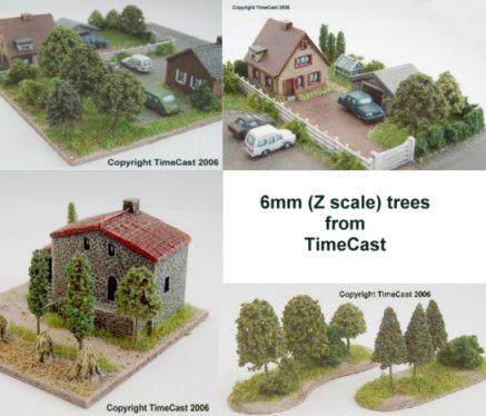timecast range 37 timecast scenic accessories model trees