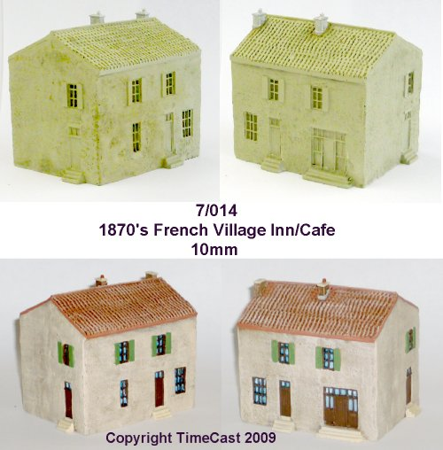 TimeCast Range 7 - 10mm scale Western European Buildings