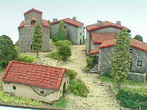 Timecast Range 9 10mm N Scale Southern European Buildings